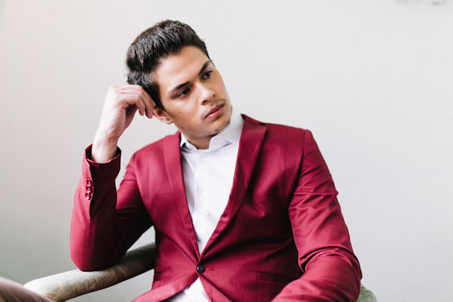 Groom's attire in marsala | Blinkbox Photos and Cuckoo Cloud Concepts