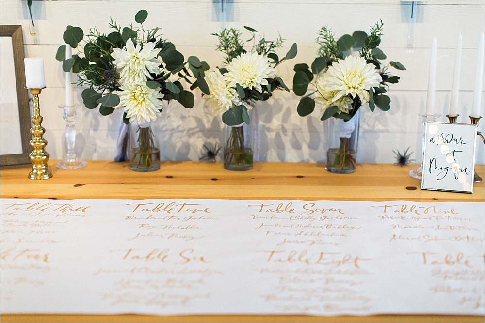 unique seating charts - photo by Flora and Fauna http://ruffledblog.com/modern-bohemian-wedding-with-an-air-plant-bouquet