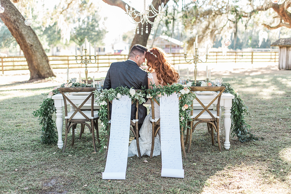 wedding inspiration - photo by Landon Hendrick Photography http://ruffledblog.com/southern-garden-chic-wedding-inspiration