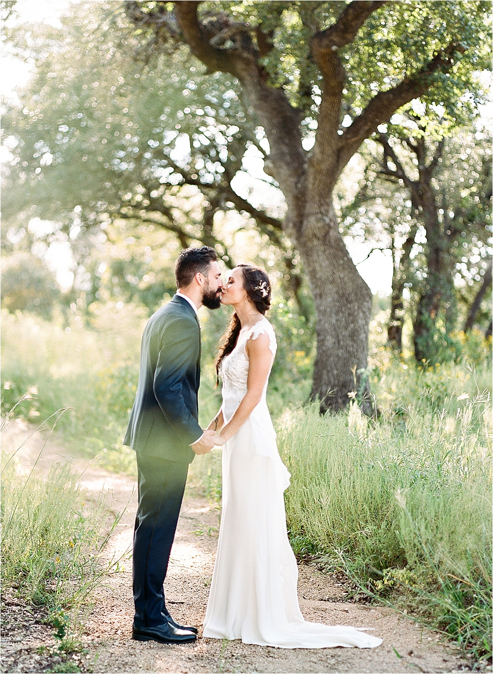 wedding photography - photo by Flora and Fauna http://ruffledblog.com/modern-bohemian-wedding-with-an-air-plant-bouquet