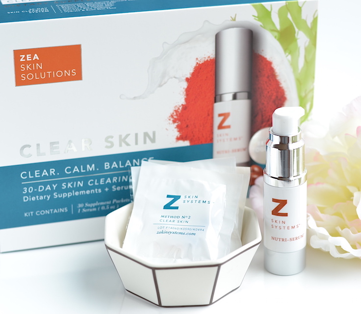 Zea Skin Solutions Clear Skin System for acne-prone skin