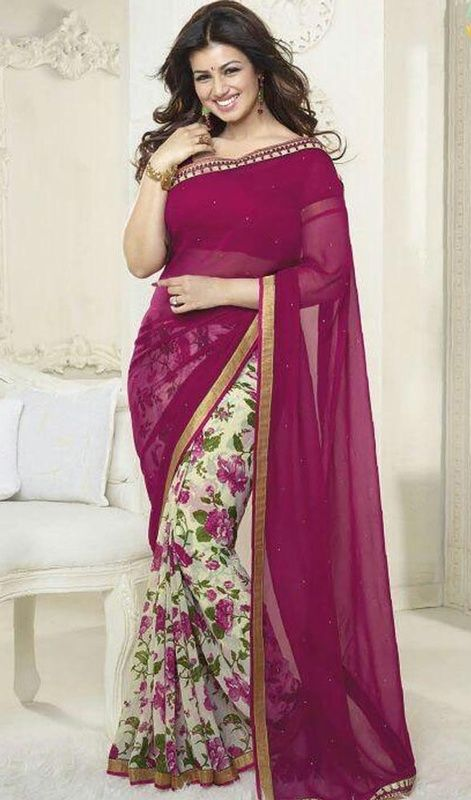 16 ways to wear saree for curvy women (16)