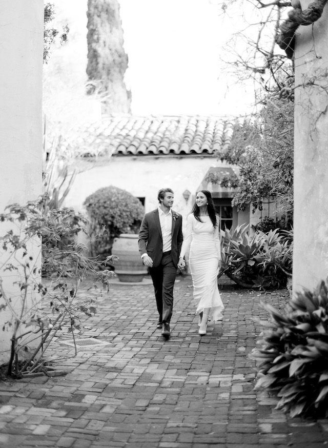 Santa Barbara courthouse wedding | Lacie Hansen Photography