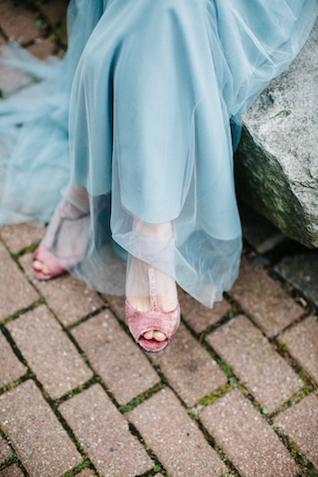 Rose Quartz and serenity blue wedding | Greta Tucker Photographer