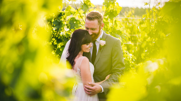 Beautiful outdoor wedding photo - Sam Hurd Photography