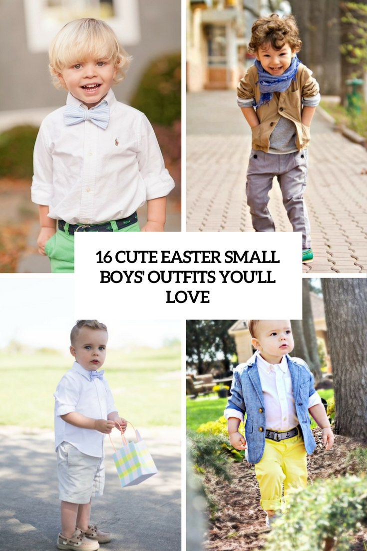 cute easter small boys' outfits you'll love cover