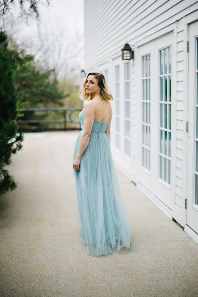 Serenity Blue dress from Jenny Yoo | Greta Tucker Photographer