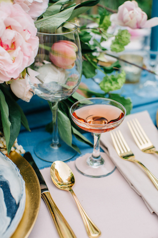 Rose Quartz wedding ideas | Greta Tucker Photographer