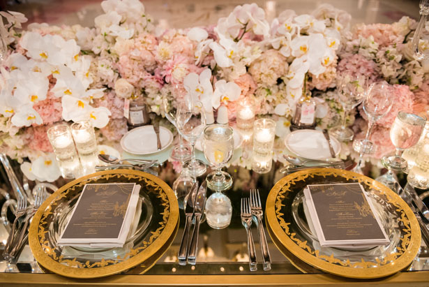 Glamorous wedding tablescape - Lin And Jirsa Photography