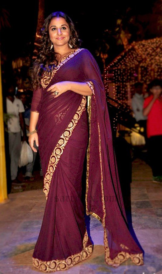 16 ways to wear saree for curvy women (14)