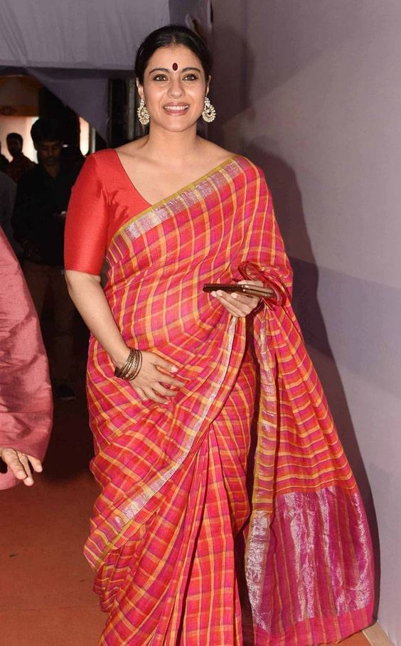 16 ways to wear saree for curvy women (13)