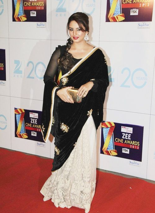 16 ways to wear saree for curvy women (12)