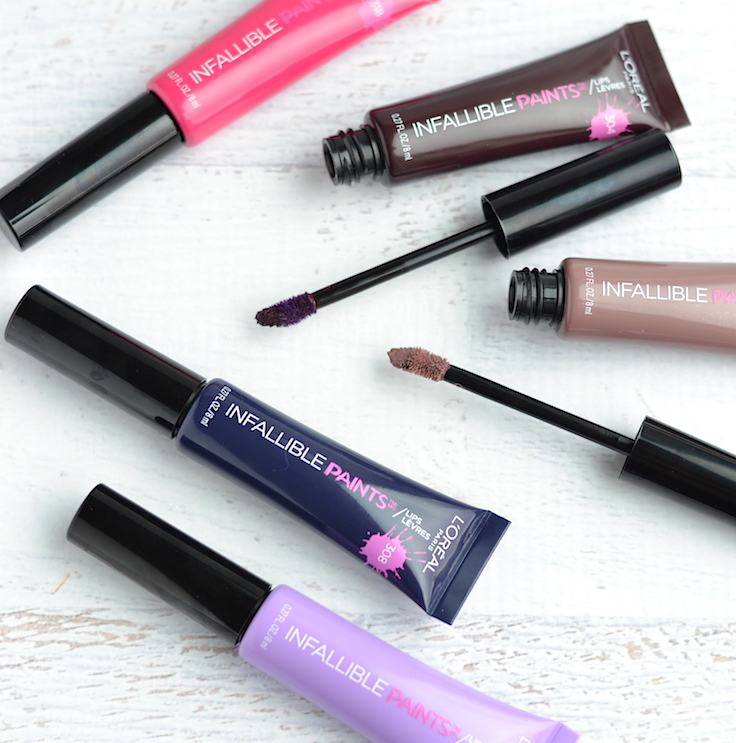 If you can't stand the drying matte-ness of liquid lipsticks, L'Oreal Infallible Lip Paints are the perfect pick!