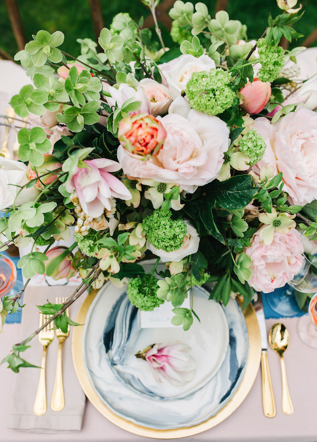 Blush and light blue wedding inspiration | Greta Tucker Photographer