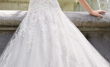 Wedding Trends: Dropped Waistline Bridal Gowns