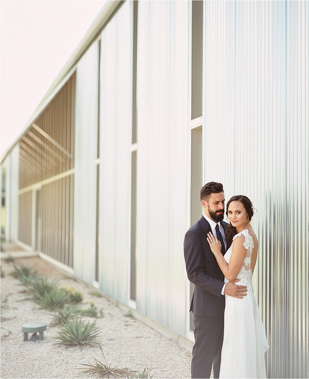 wedding portraits - photo by Flora and Fauna http://ruffledblog.com/modern-bohemian-wedding-with-an-air-plant-bouquet