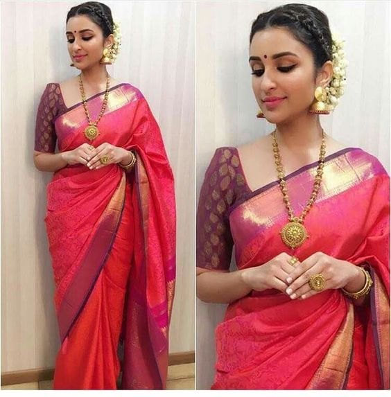 16 ways to wear saree for curvy women (1)
