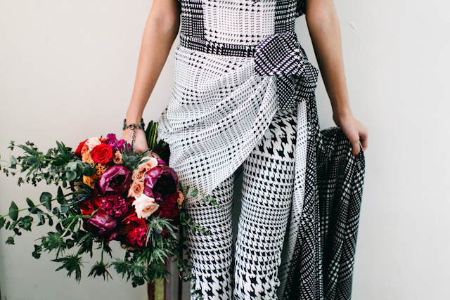 Black and white jumpsuit | Blinkbox Photos and Cuckoo Cloud Concepts