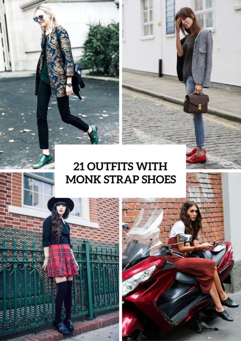 Trendy Outfits With Monk Strap Shoes For Women