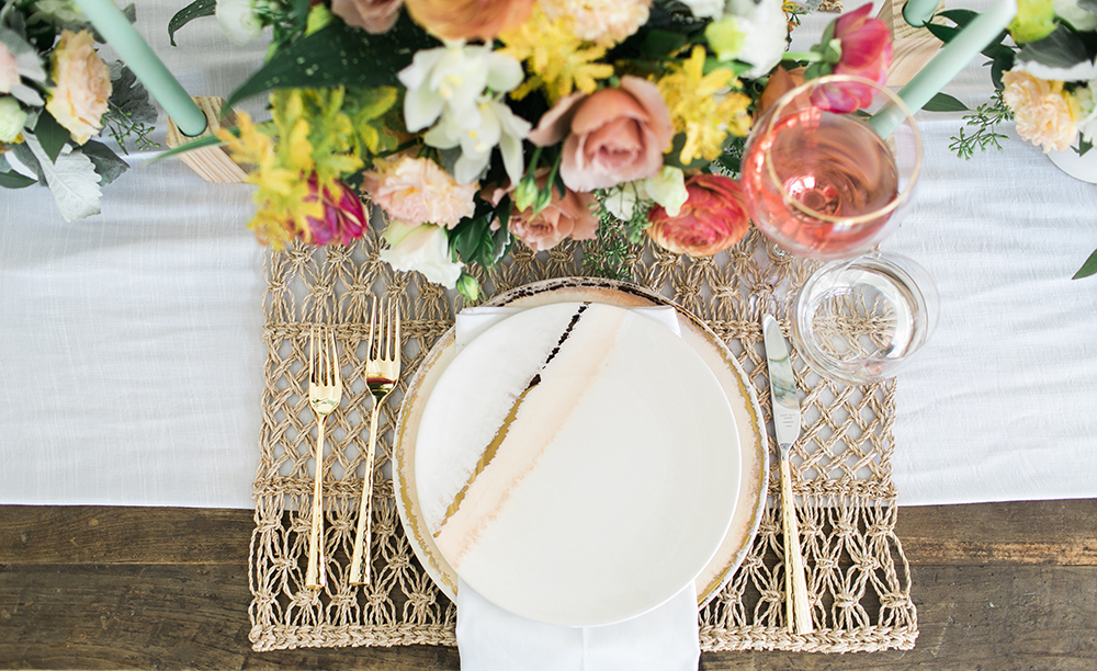 place settings - http://ruffledblog.com/design-your-first-home-together-with-bloomingdales-registry