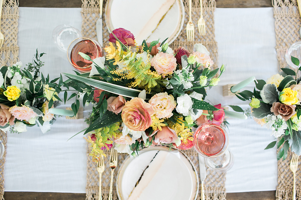 tablescapes - http://ruffledblog.com/design-your-first-home-together-with-bloomingdales-registry