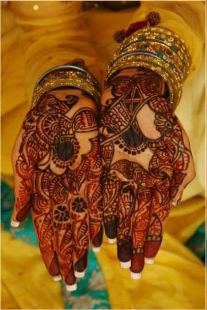 Wedding Mehndi Designs Ideas