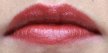 L'Oreal Colour Riche lipstick Raisin Rapture swatch