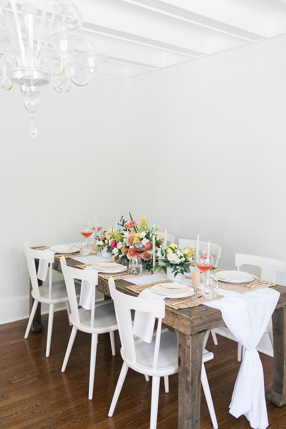 Entertain in Style with Bloomingdale's - http://ruffledblog.com/design-your-first-home-together-with-bloomingdales-registry