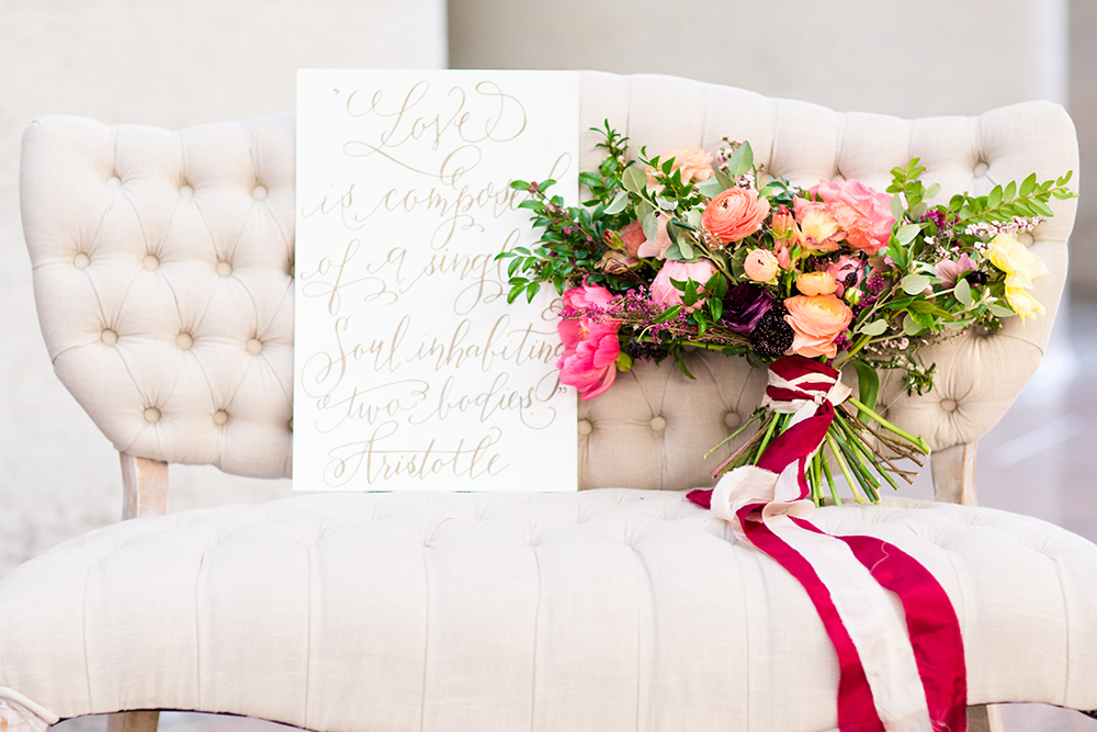 wedding day details - photo by Lauren Lee Photography http://ruffledblog.com/modern-grecian-inspired-wedding-ideas
