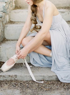 Ballet inspired wedding picture - Ashley Rae Photography