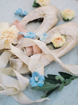 Bridal ballet slippers - Ashley Rae Photography