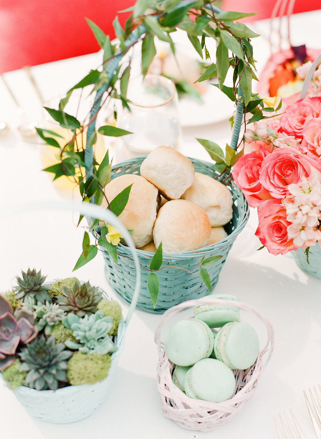 Easter inspiration - photo by The Happy Bloom http://ruffledblog.com/happy-bright-easter-party-inspiration