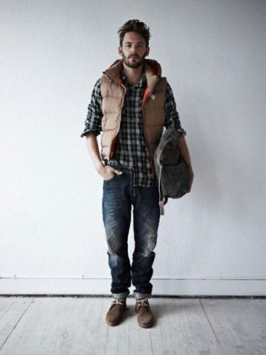 Flannel Outfit Ideas for Men (13)
