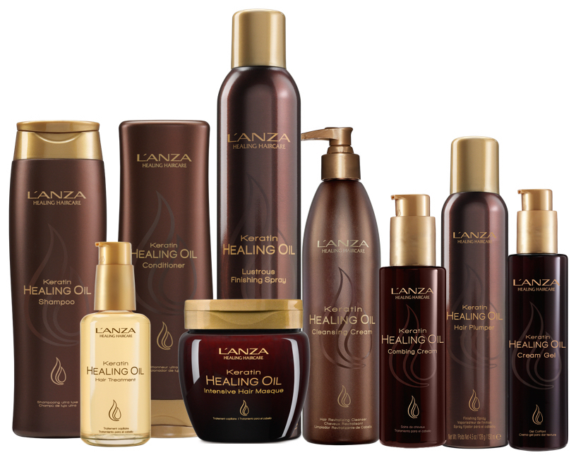 LANZA Keratin Healing Oil Collection