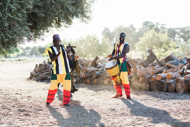 African music at wedding | Jenny Quicksall Photography