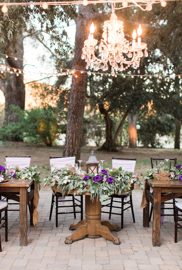 Unique sweetheart table | Jenny Quicksall Photography