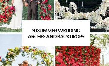 summer wedding arches and backdrops cover