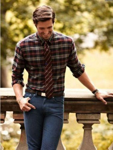 Flannel Outfit Ideas for Men (10)