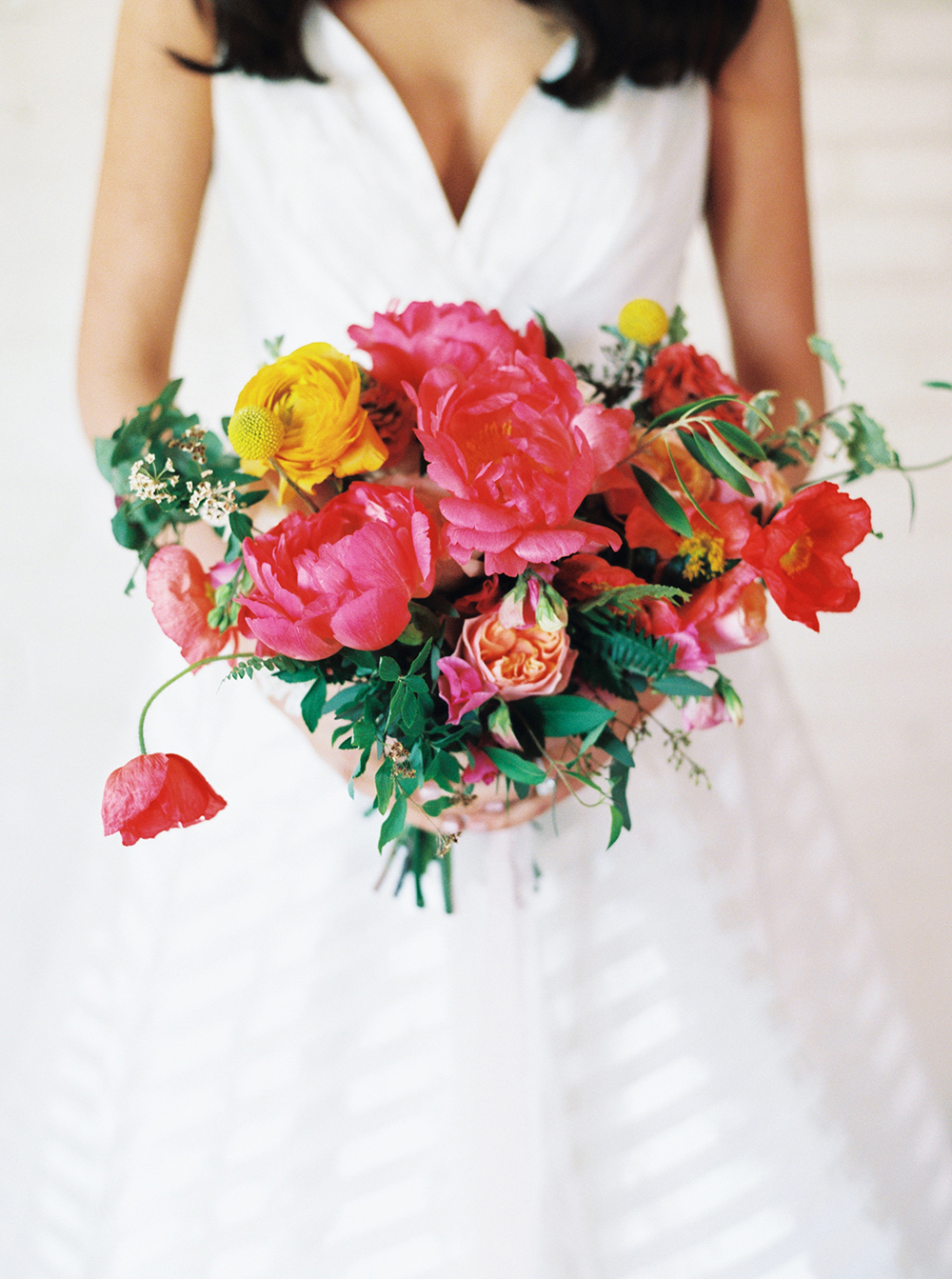 Vibrant Summer Wedding Inspiration with Fun Colors - photo by Jessica Gold Photography http://ruffledblog.com/vibrant-summer-wedding-inspiration-with-fun-colors