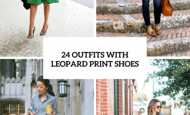 Adorable Outfits With Leopard Print Shoes