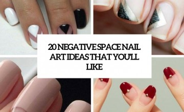 negative space nail art ideas that you
