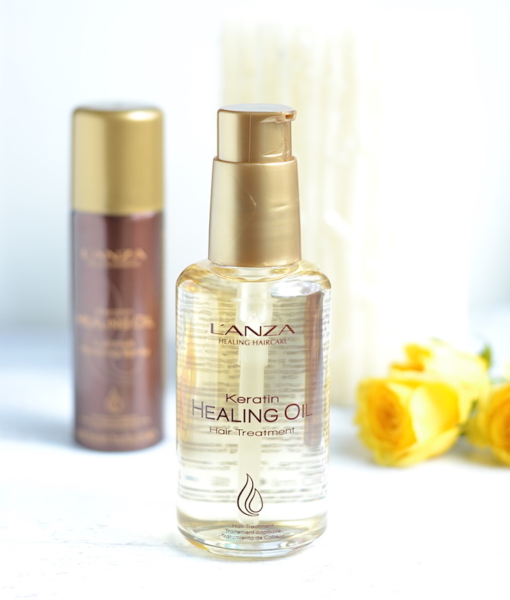 From straw-like to silky soft! Say goodbye to dry with this keratin healing oil haircare line!