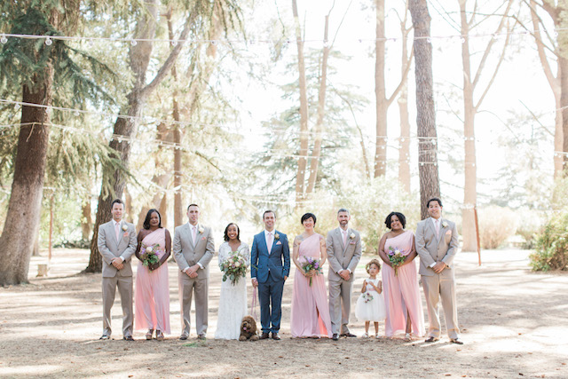 Group wedding portrait | Jenny Quicksall Photography