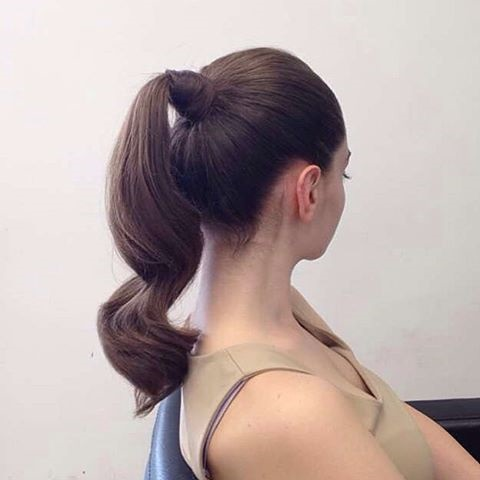 Ponytail Prom Hair Idea