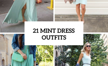 Gentle Outfits With Mint Green Dresses