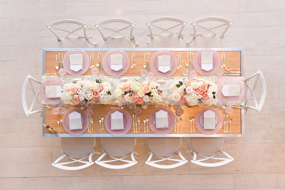 wedding tables - photo by 5ive15ifteen http://ruffledblog.com/elegant-wedding-at-the-toronto-royal-conservatory-of-music