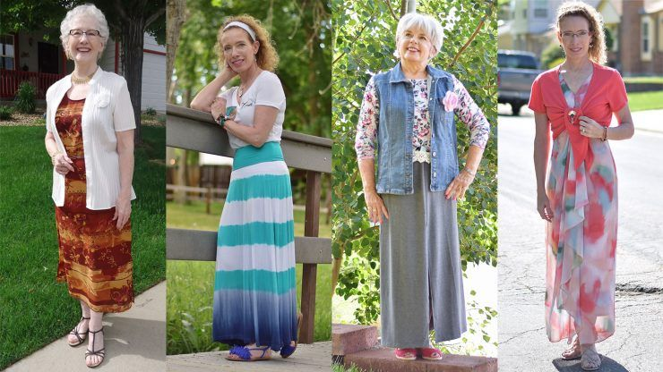 maxi and summer wear for older ladies