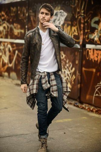 Flannel Outfit Ideas for Men (16)