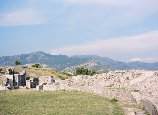 Solin, Croatia destination wedding amid Roman ruins | Erika Parker Photography