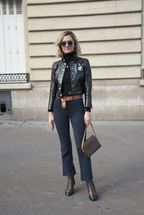 Ideas to wear Bootcut jeans with style (17)